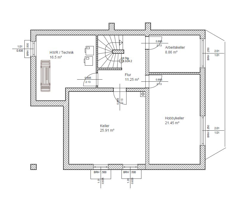 Treppenhaus grundriss 3d  Tipps für Grundriss - tektorum.de