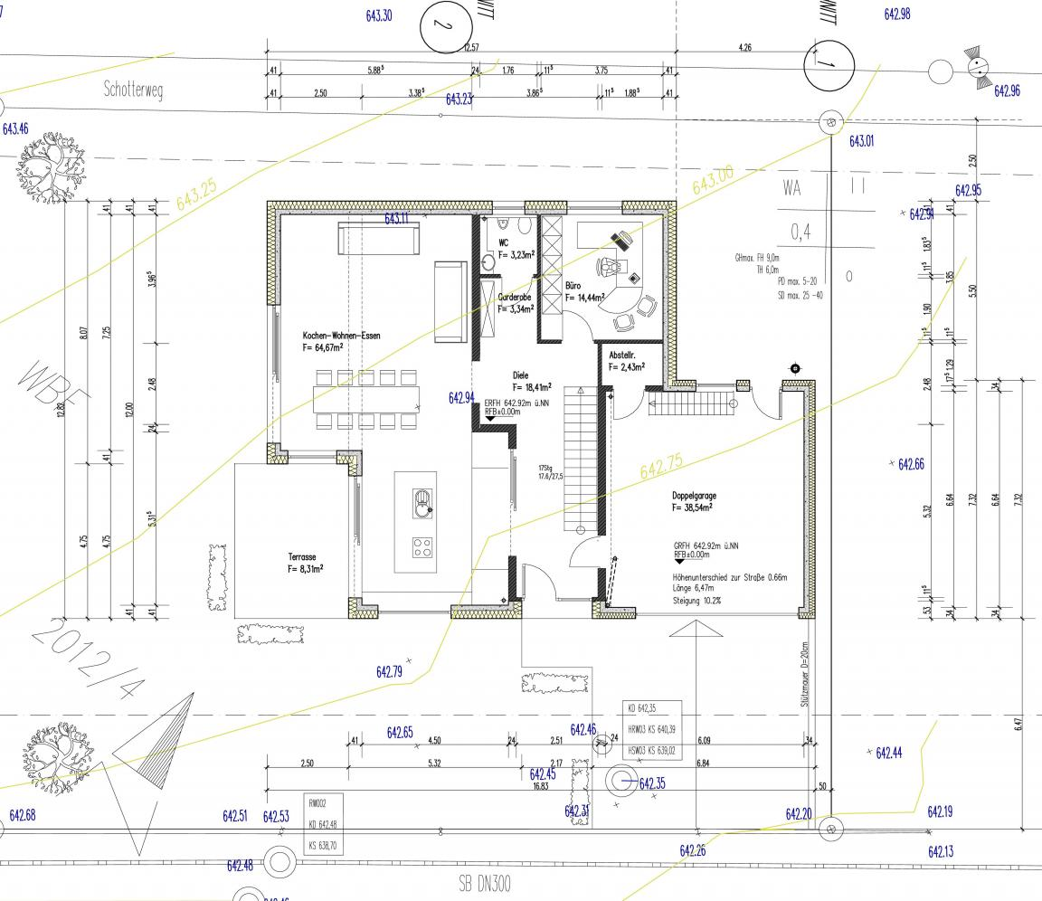 Bauplan for Gunstig bauen mit architekt