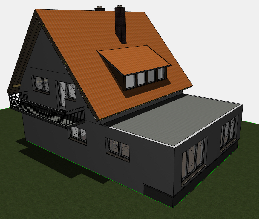 hausanbau erweiterung hilfe erbeten. Black Bedroom Furniture Sets. Home Design Ideas