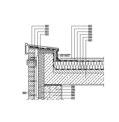 Fenster außen bündig 2 schalige sichtbetonkonstruktion df2 02