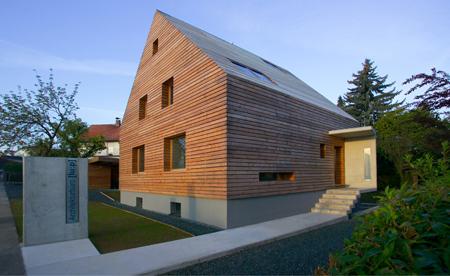 Detail ortgang ohne dachüberstand