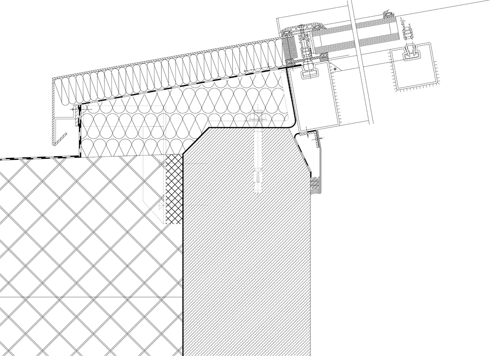 Flachdach fenster detail  Dachfenster auf Betonflachdach - tektorum.de