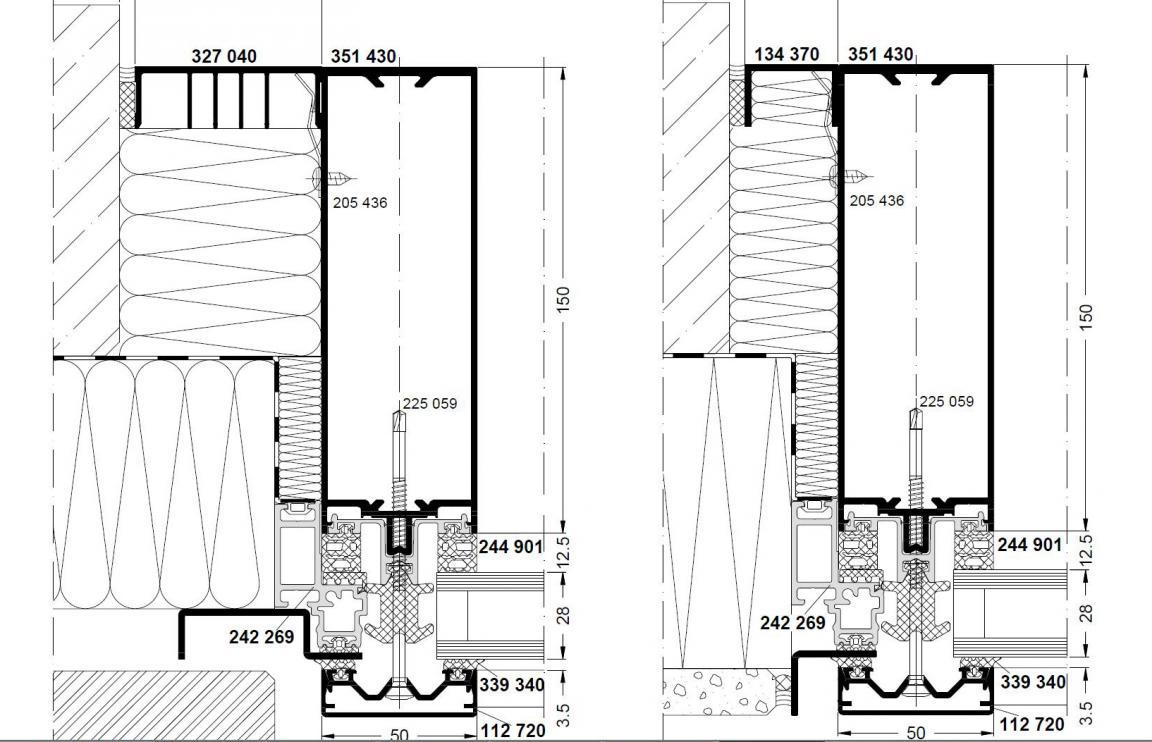 einzelnen beitrag anzeigen anschluss p r fassade zwischen zwei geb uden. Black Bedroom Furniture Sets. Home Design Ideas