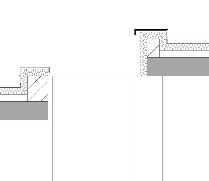 Oberlicht schnitt  Oberlicht- Wie ist der Anschluss bei unterschiedlicher Dachhöhe ...