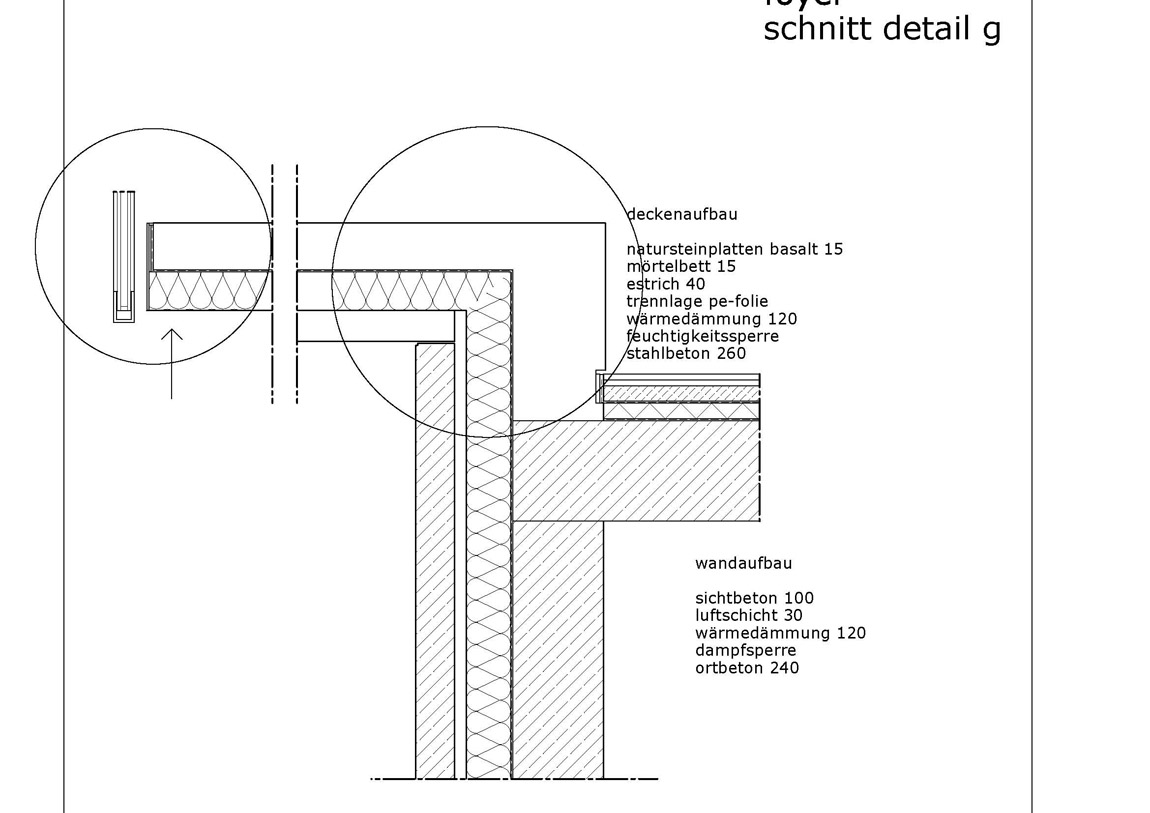 detail erker anschluss. Black Bedroom Furniture Sets. Home Design Ideas