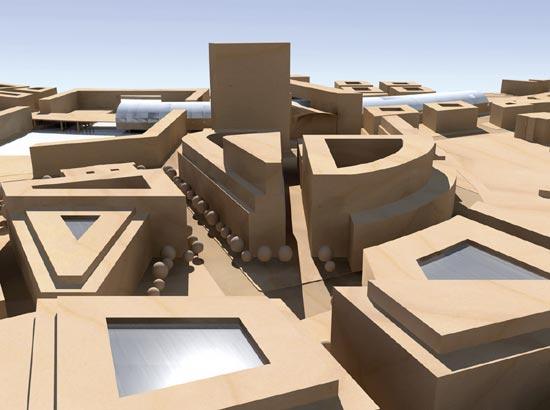Archicad und cinema 4d for Cinema 4d architektur