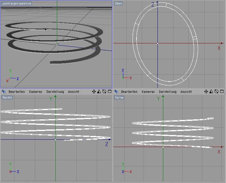 Erzeugen einer oval ellipsen spiralf rmigen rampe in for Architektur rampe