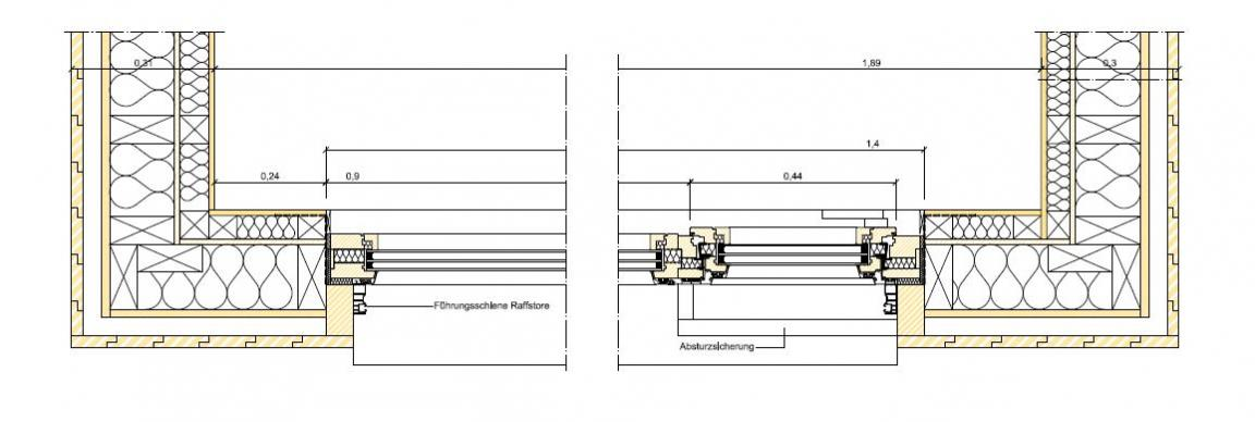 Holzrahmenbau Konstruktion Grundriss